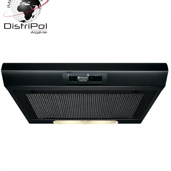 hotte ariston 60cm noir sl 16 2 bk f086971 distripol alg rie. Black Bedroom Furniture Sets. Home Design Ideas